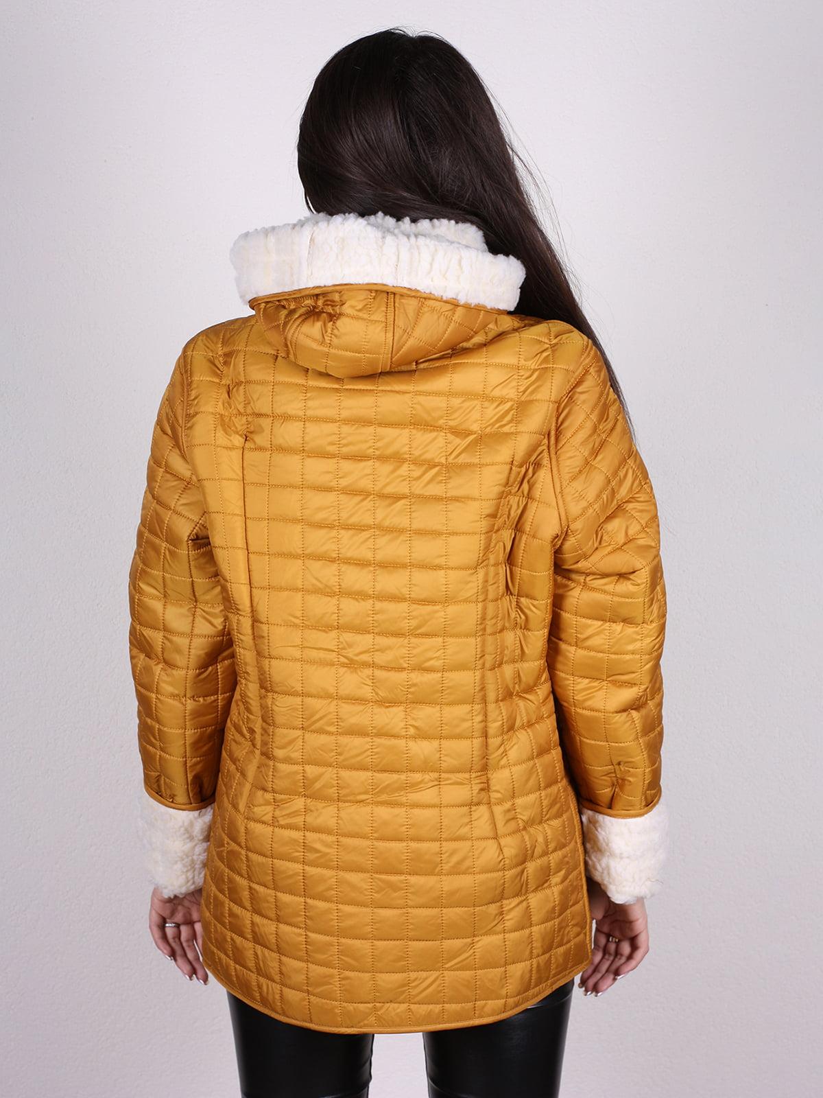 Куртка желтая | 4897422 | фото 3