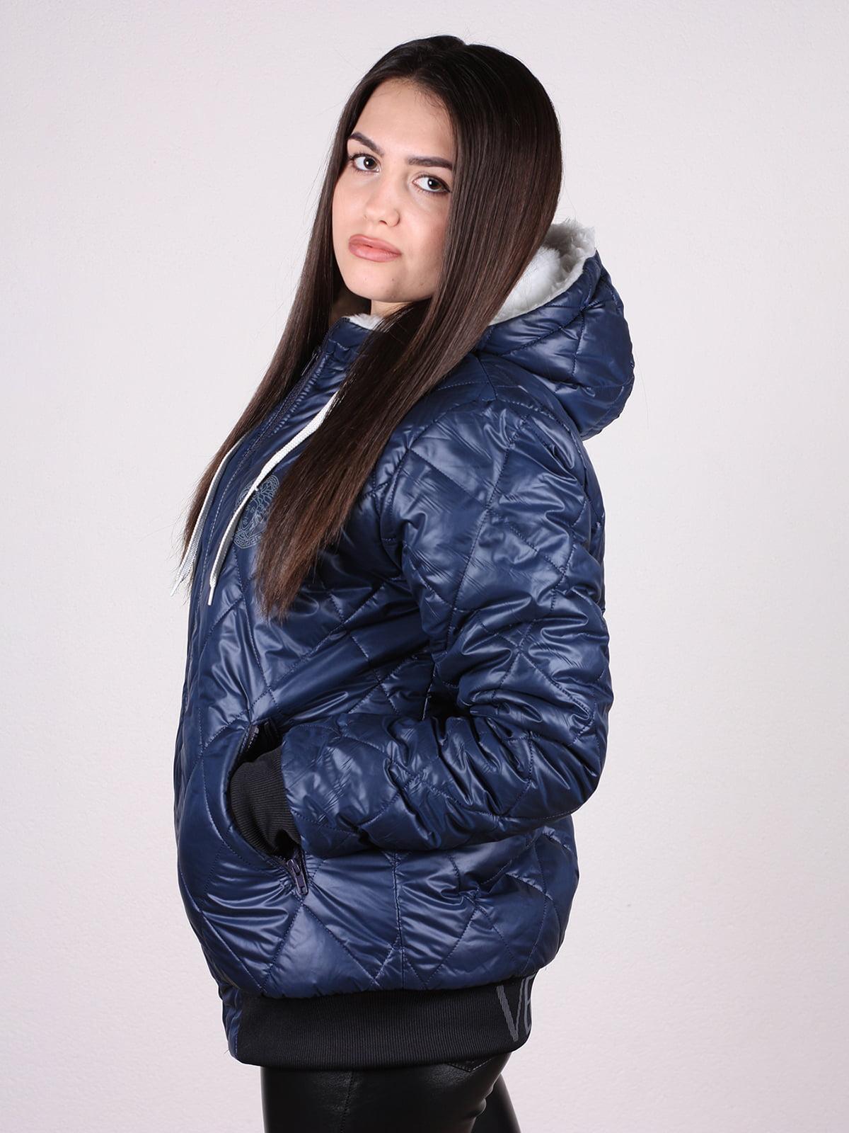 Куртка синяя | 4897428 | фото 2