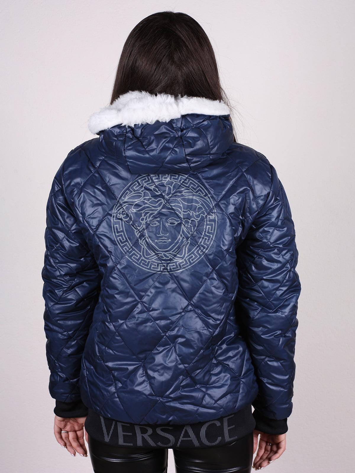 Куртка синяя | 4897428 | фото 3