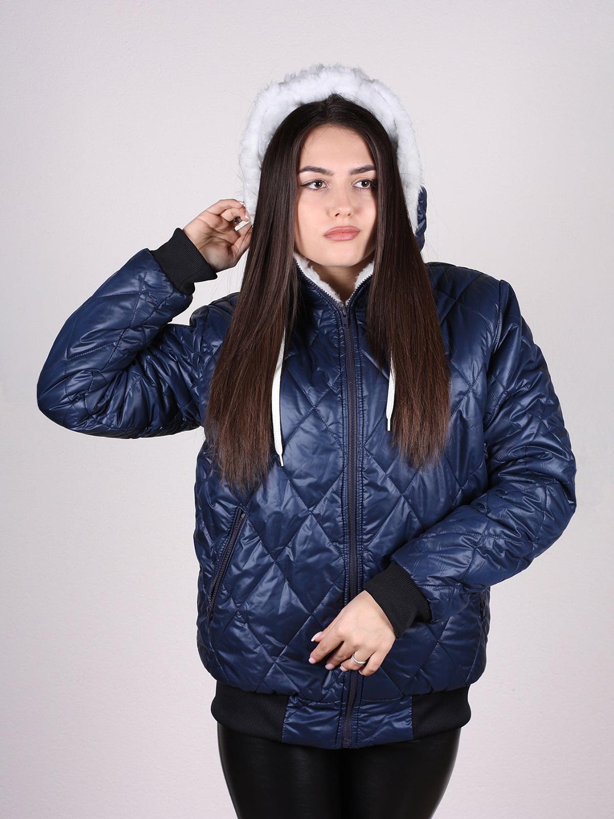 Куртка синяя | 4897428 | фото 4