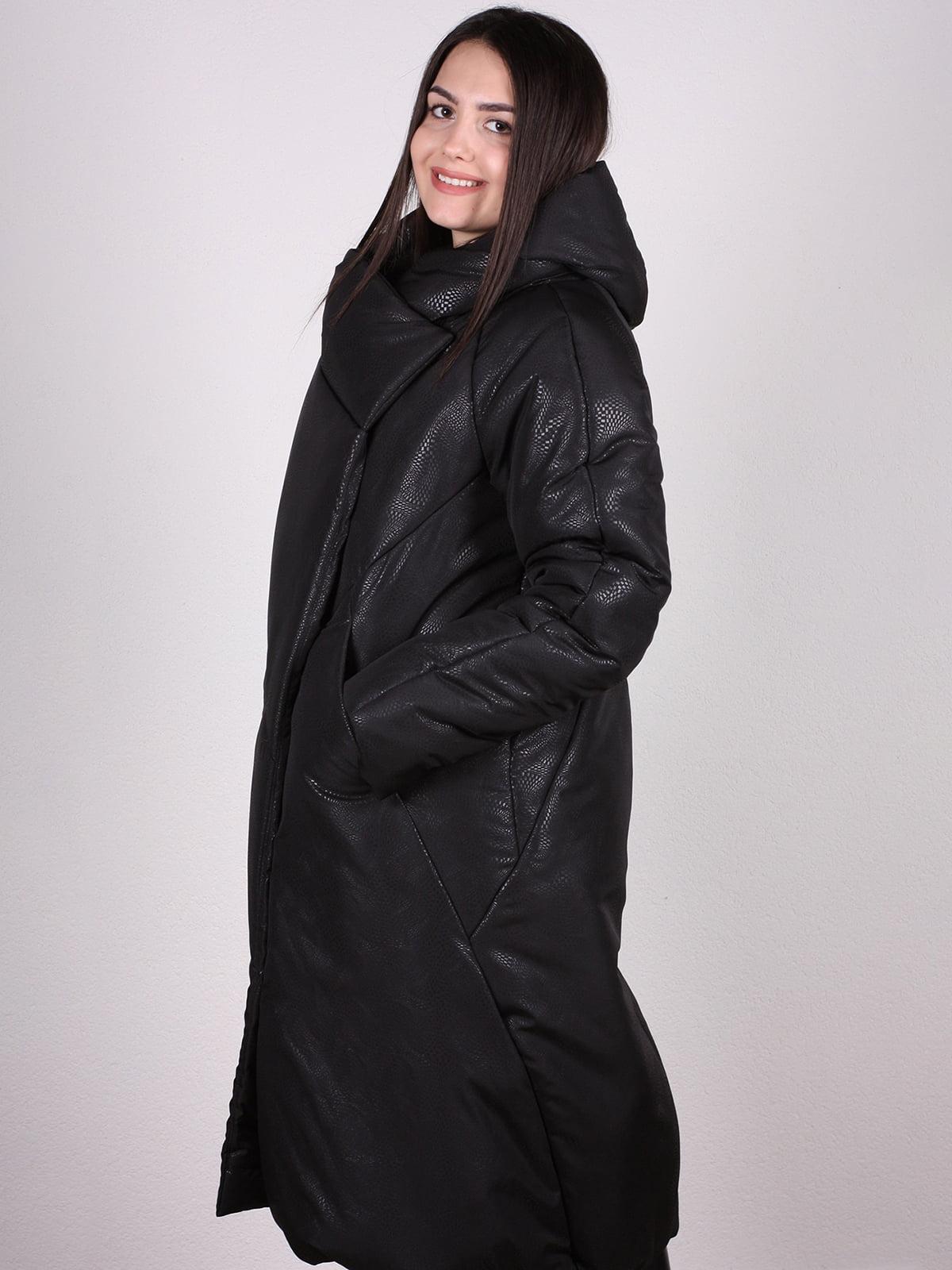Пальто черное | 4897429 | фото 2