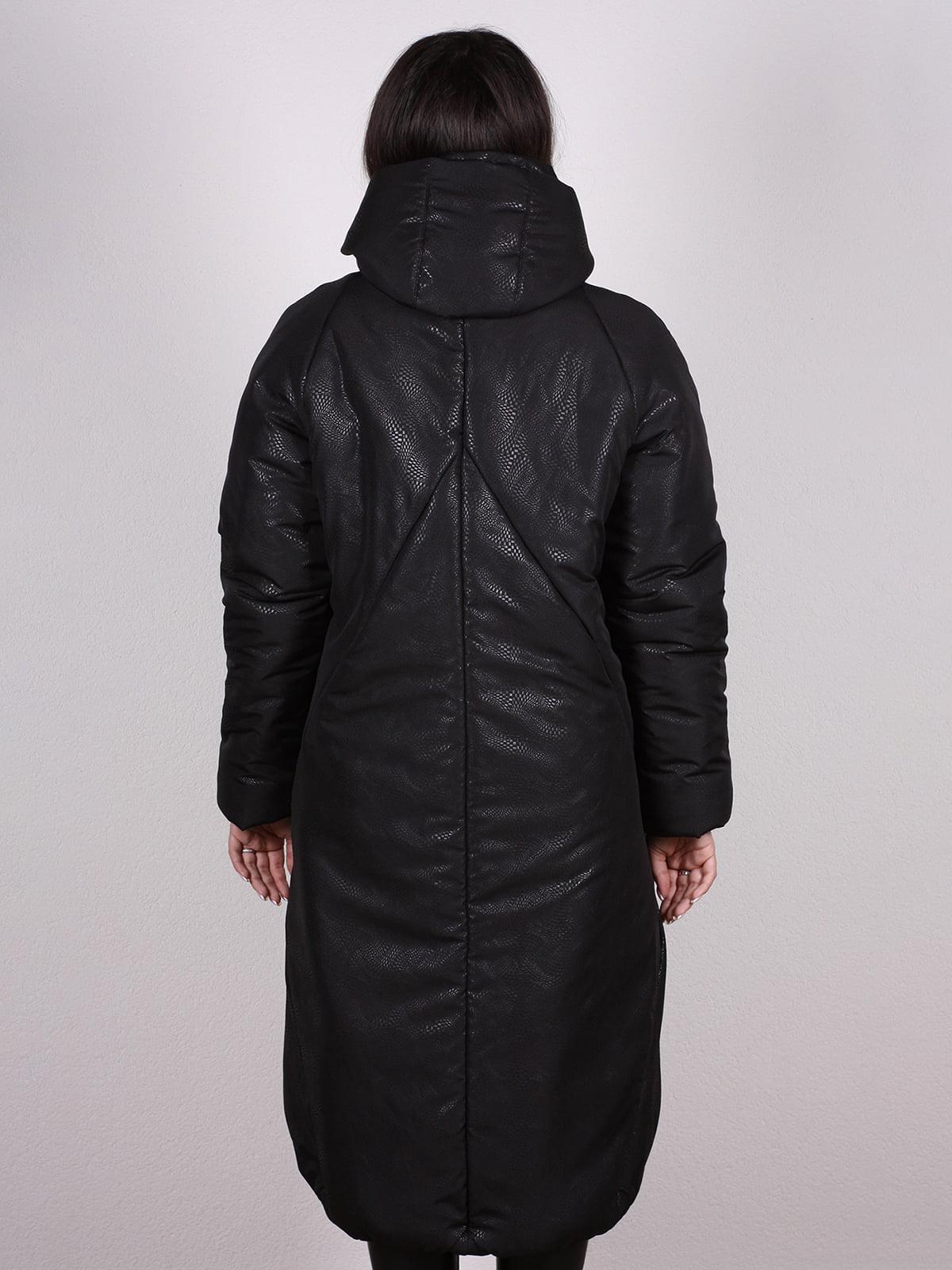 Пальто черное | 4897429 | фото 3