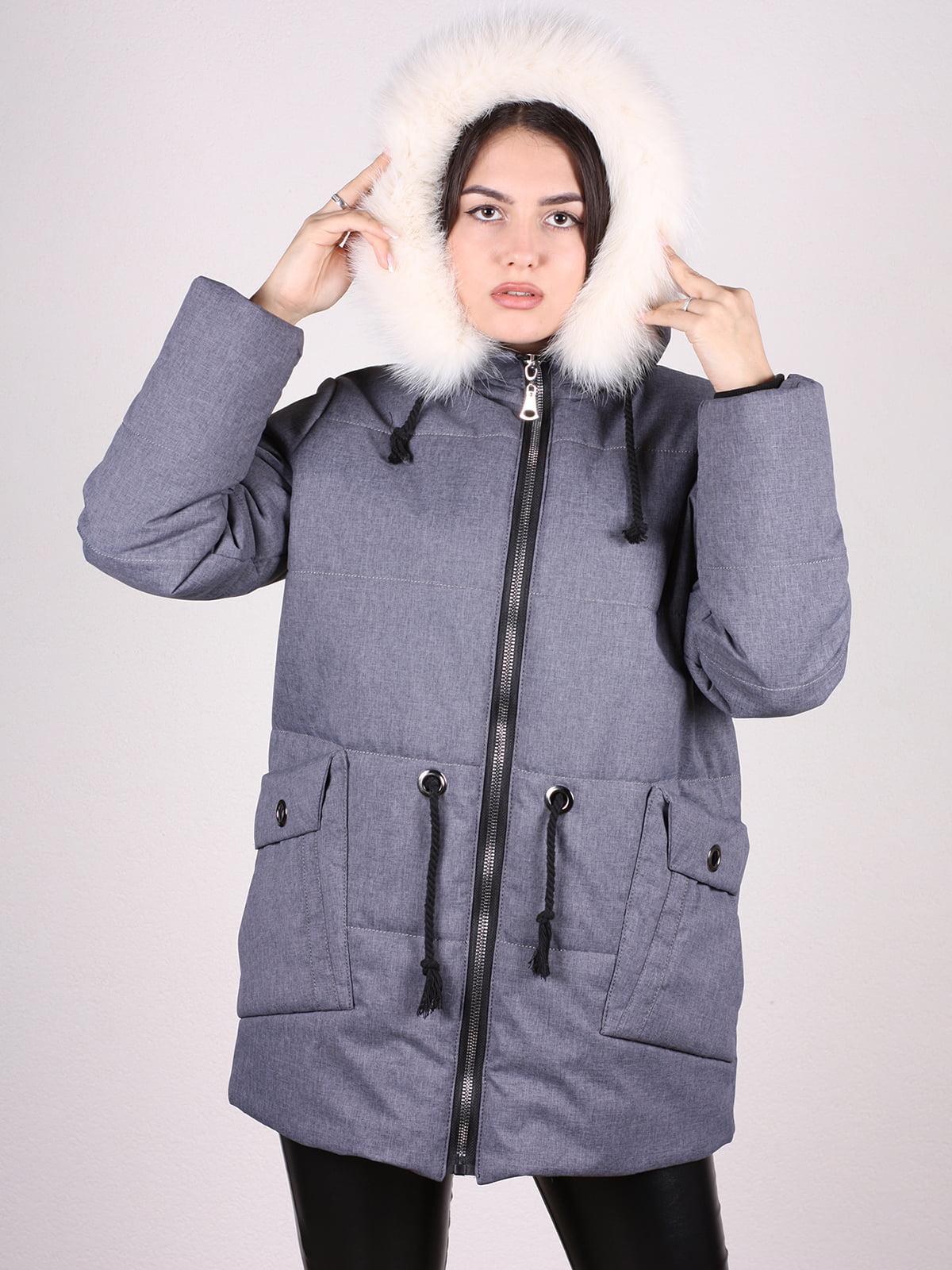 Куртка серая | 4897440