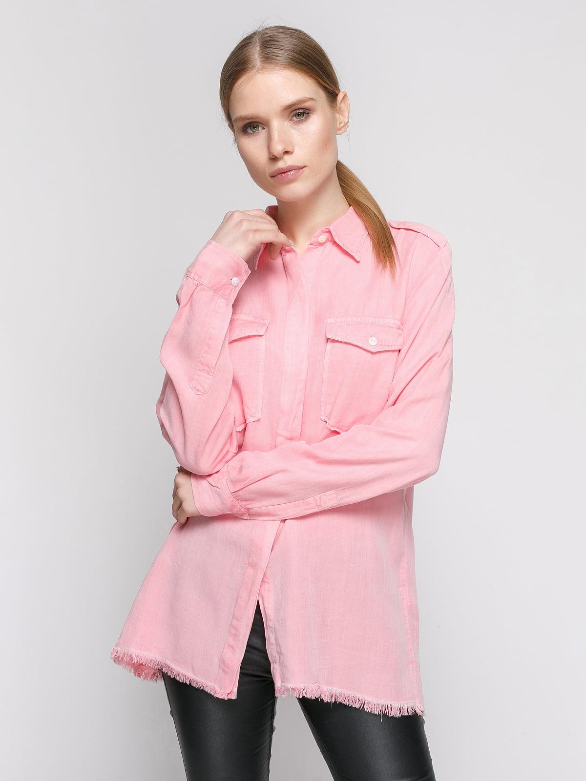 Рубашка розовая | 4875914