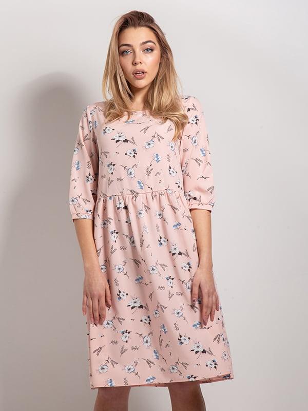 Платье в цветочный принт | 4898534