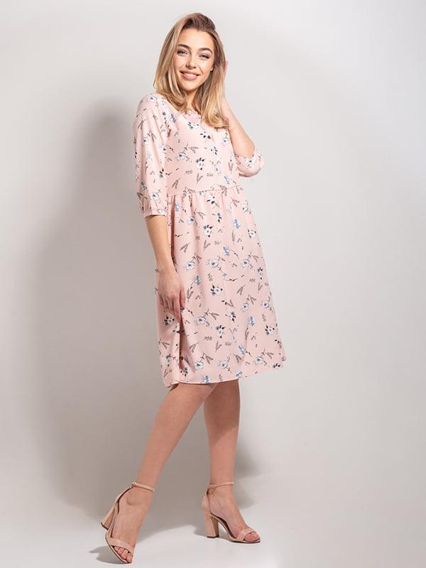 Платье в цветочный принт | 4898534 | фото 2