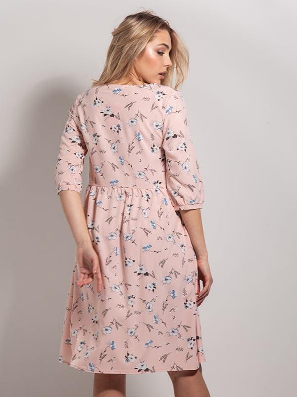 Платье в цветочный принт | 4898534 | фото 3