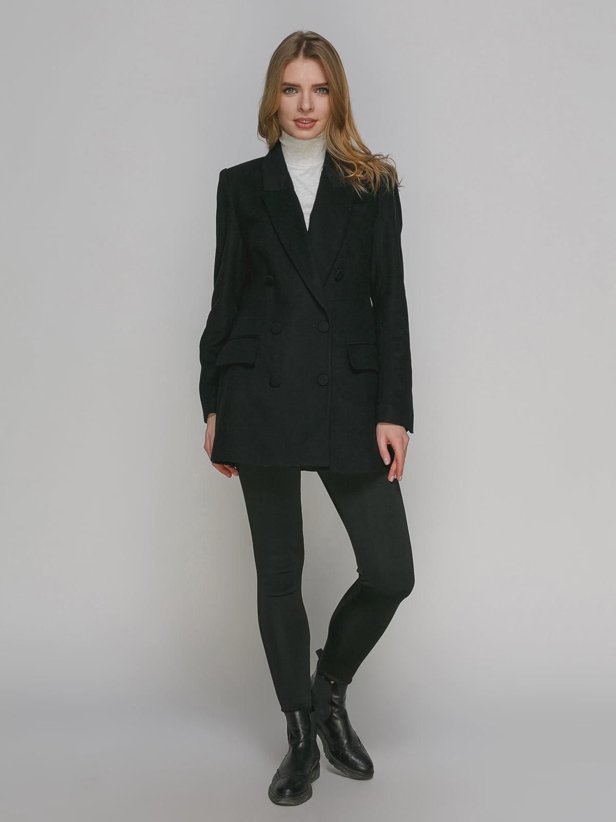 Пальто черное | 4876854 | фото 2