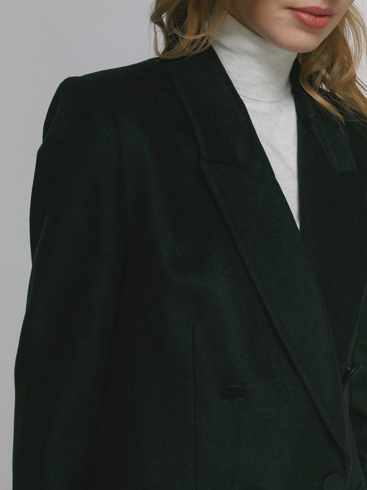 Пальто черное | 4876854 | фото 4