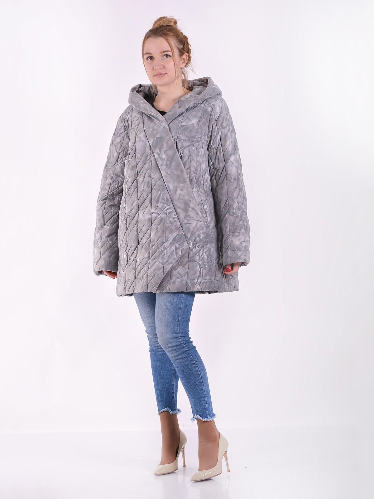 Куртка сіра | 4900833