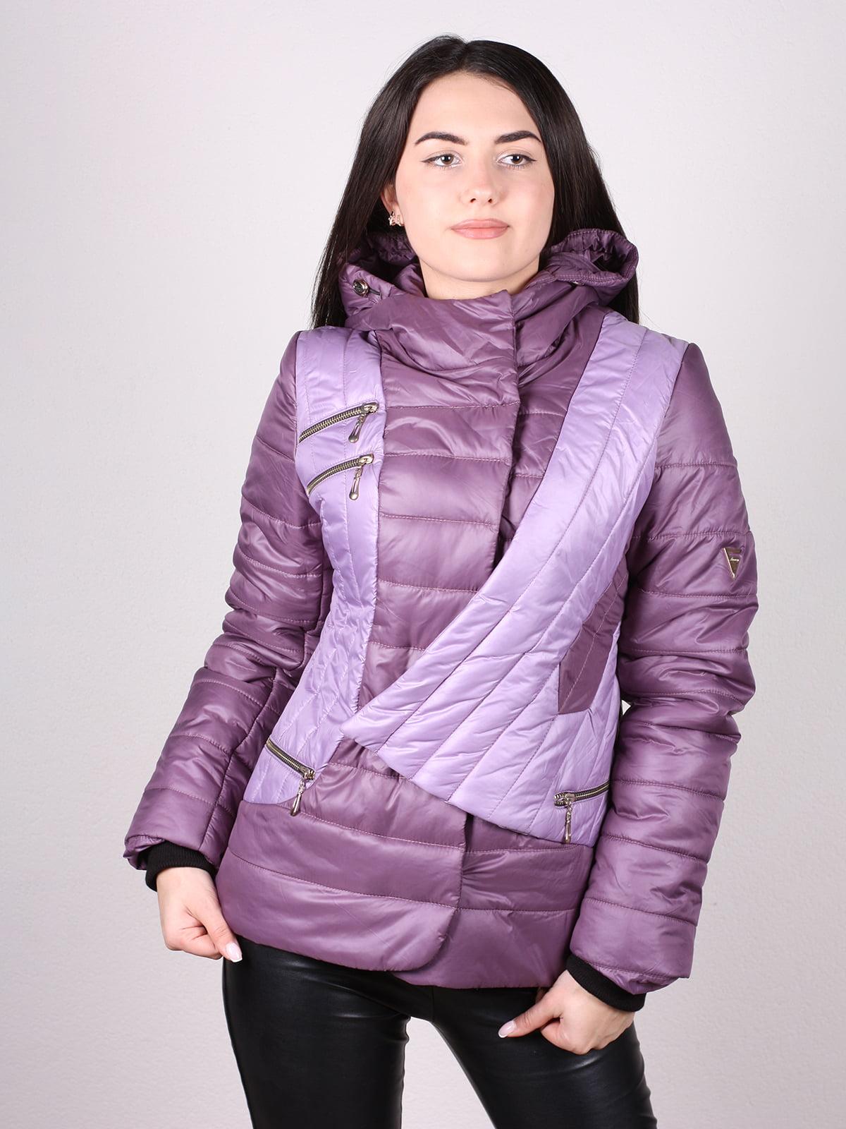Куртка сиреневая   4902377