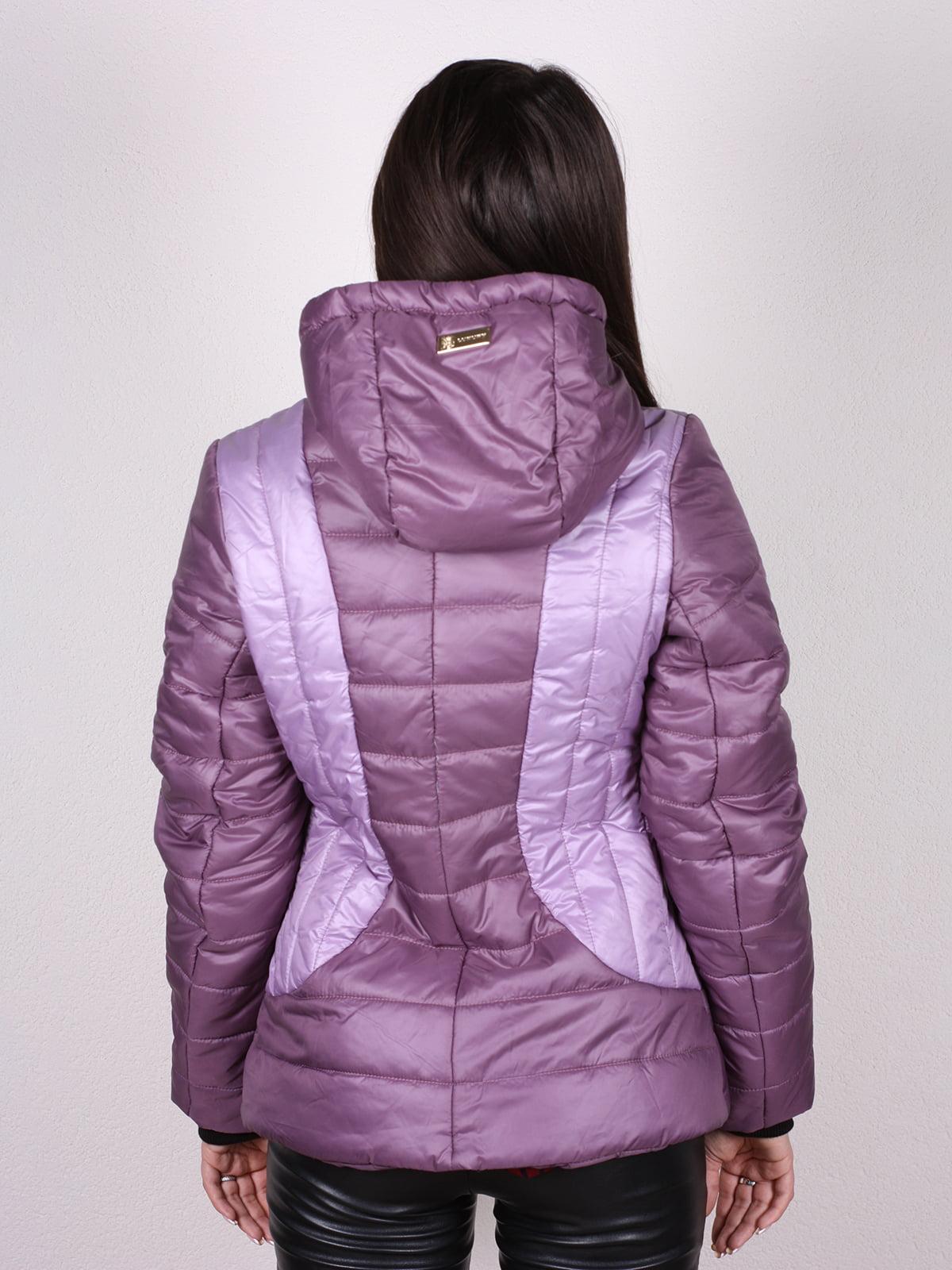 Куртка сиреневая   4902377   фото 3