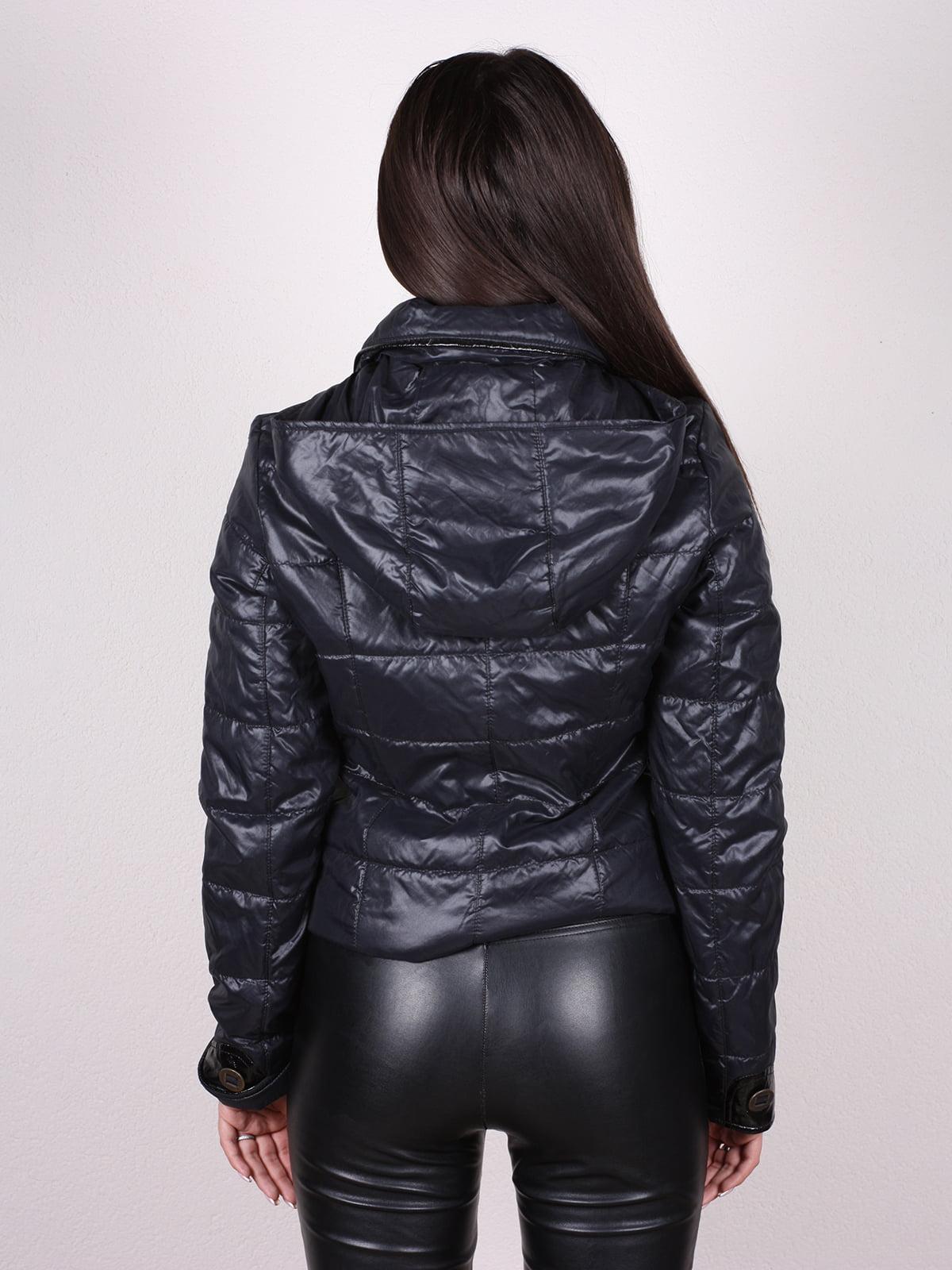 Куртка сине-черная | 4902390 | фото 3