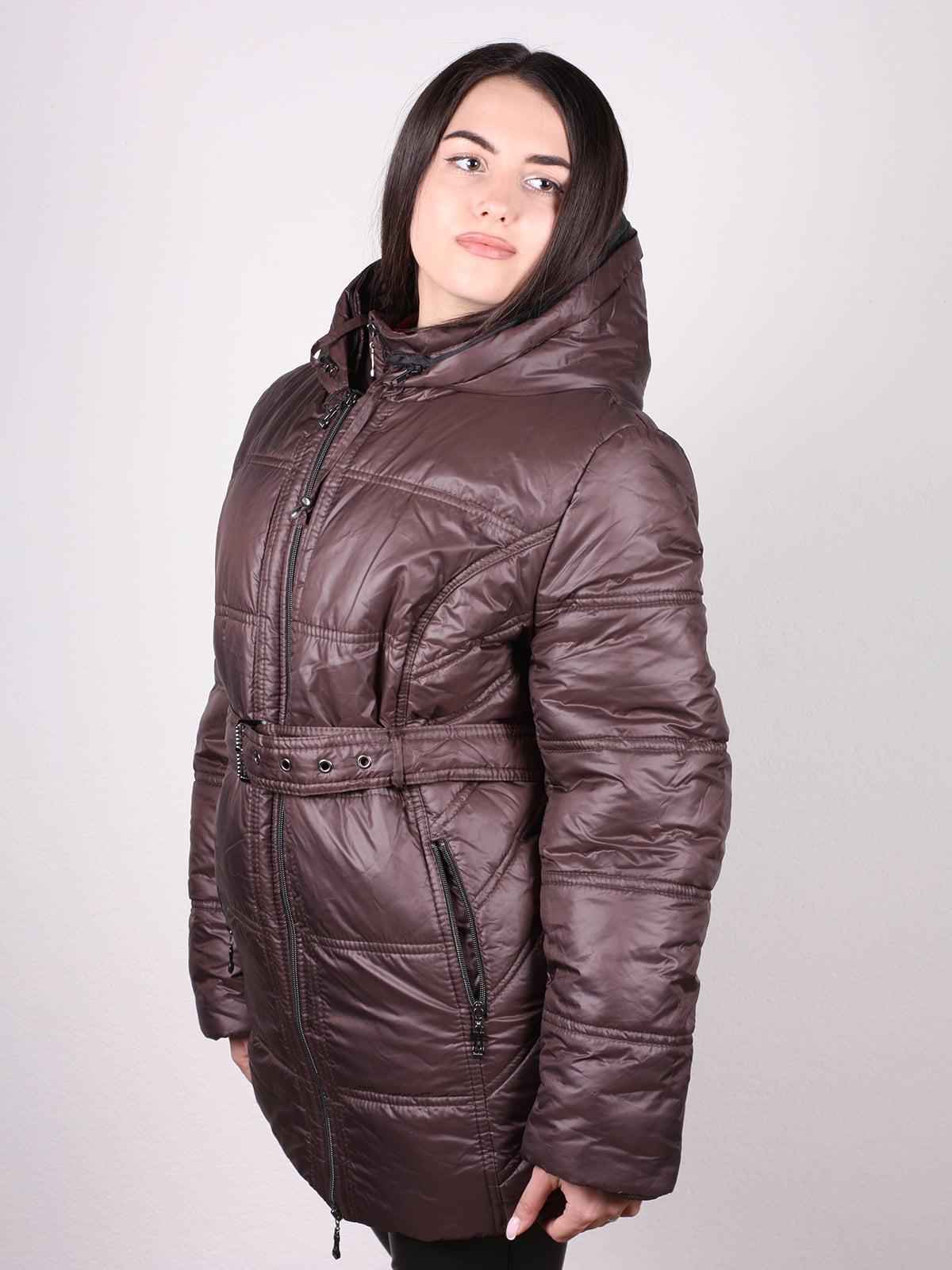 Куртка коричневая | 4902394 | фото 2