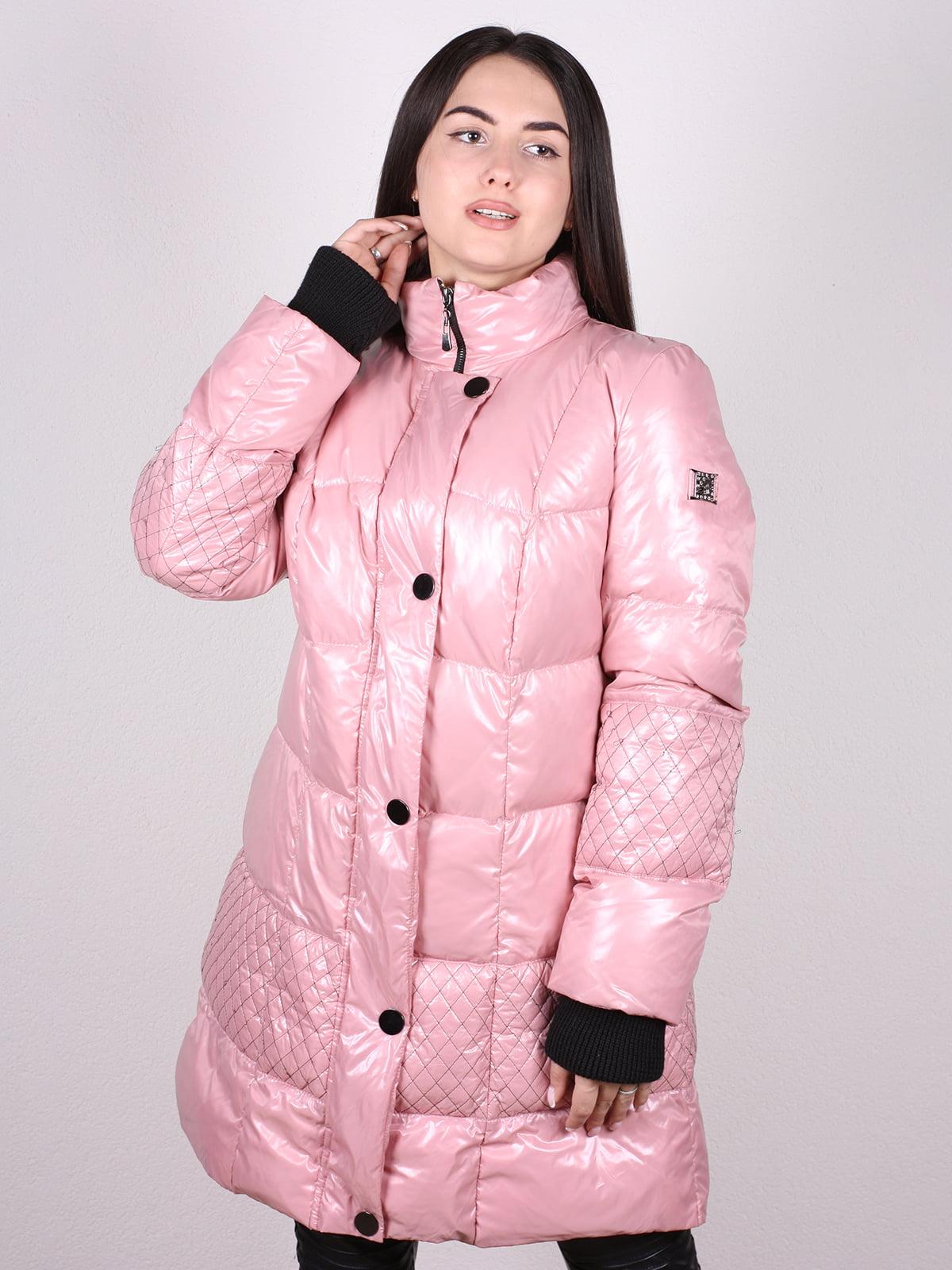 Пальто розовое | 4902397