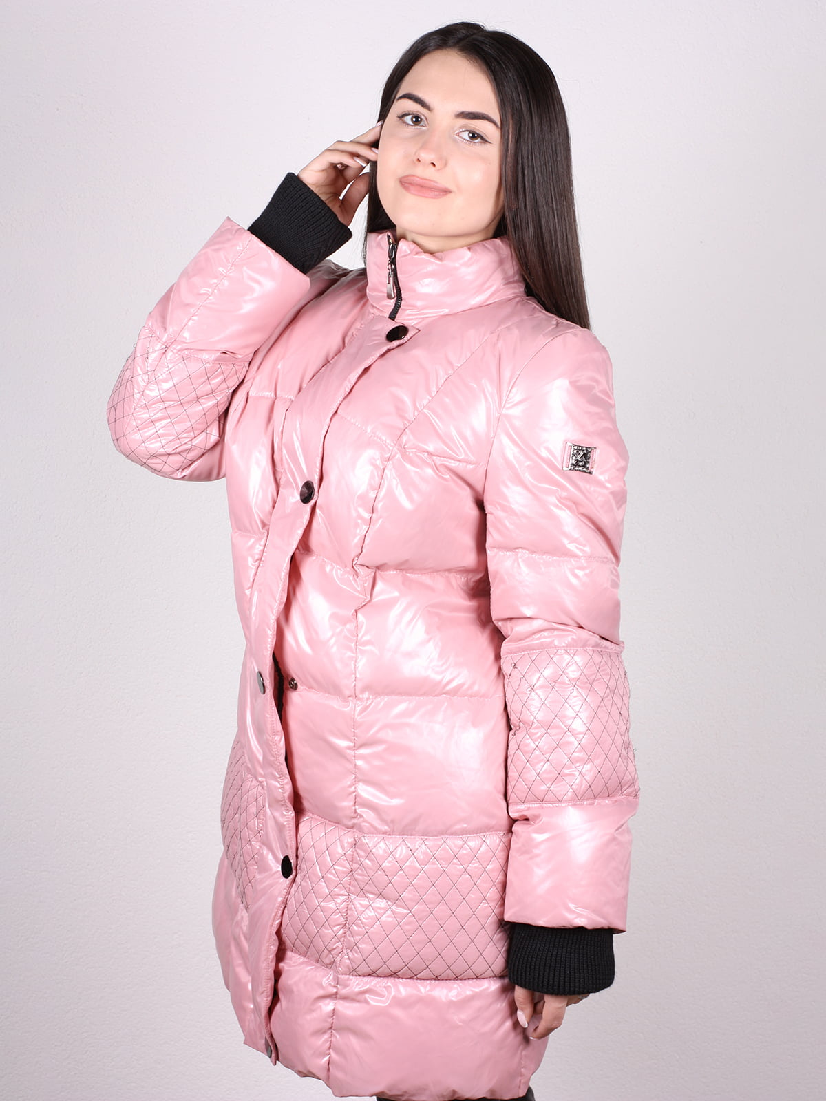 Пальто розовое | 4902397 | фото 2