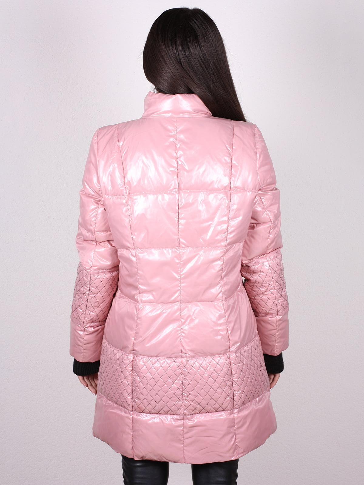 Пальто розовое | 4902397 | фото 3