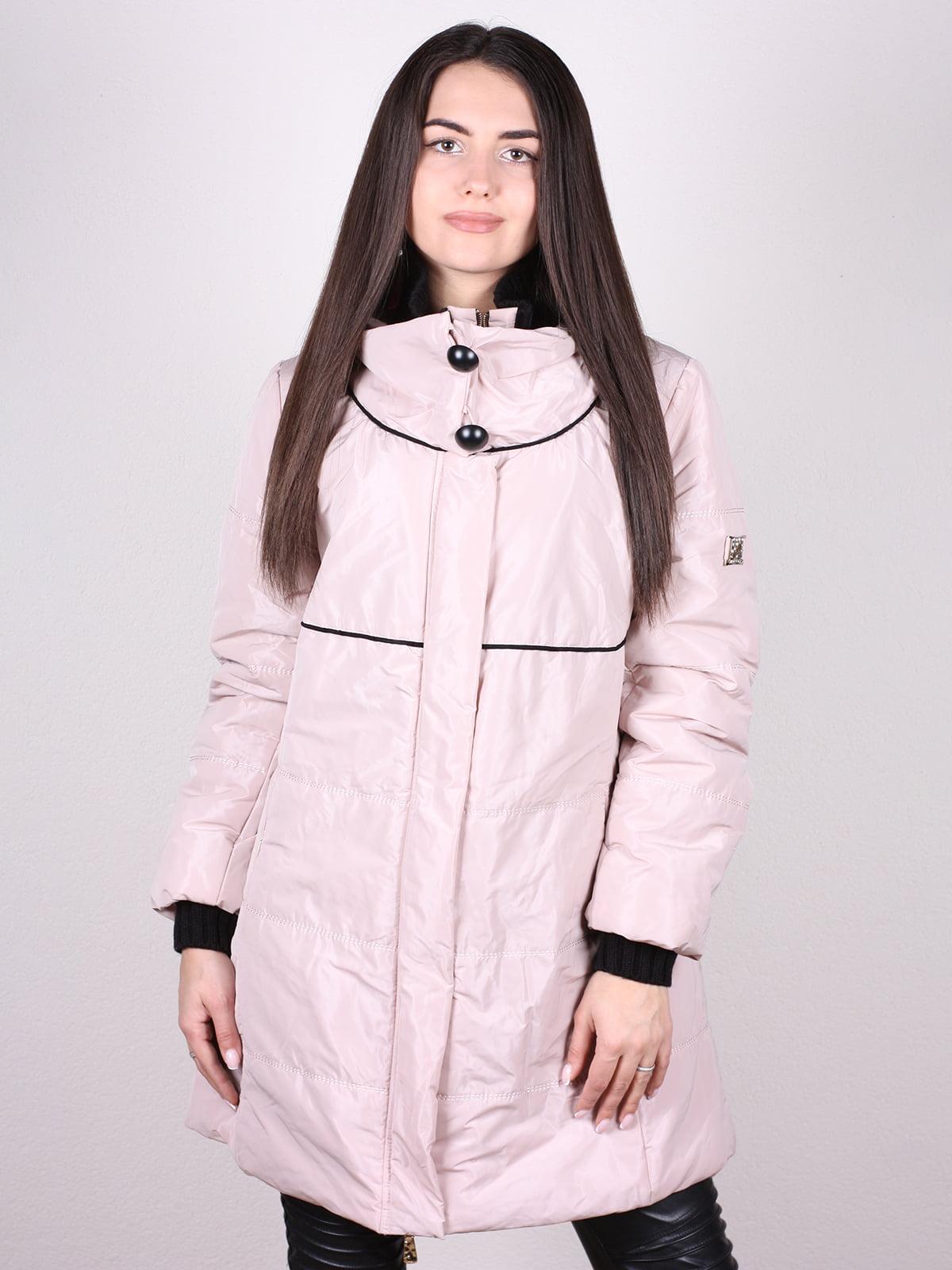 Куртка пудрового цвета | 4902400
