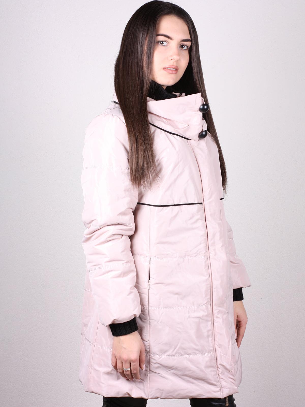 Куртка пудрового цвета | 4902400 | фото 2