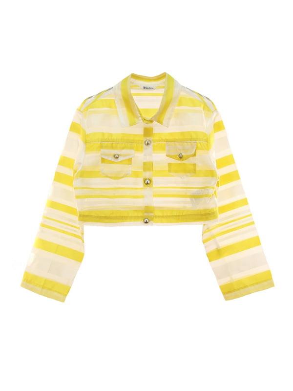 Жакет жовтий | 4781486