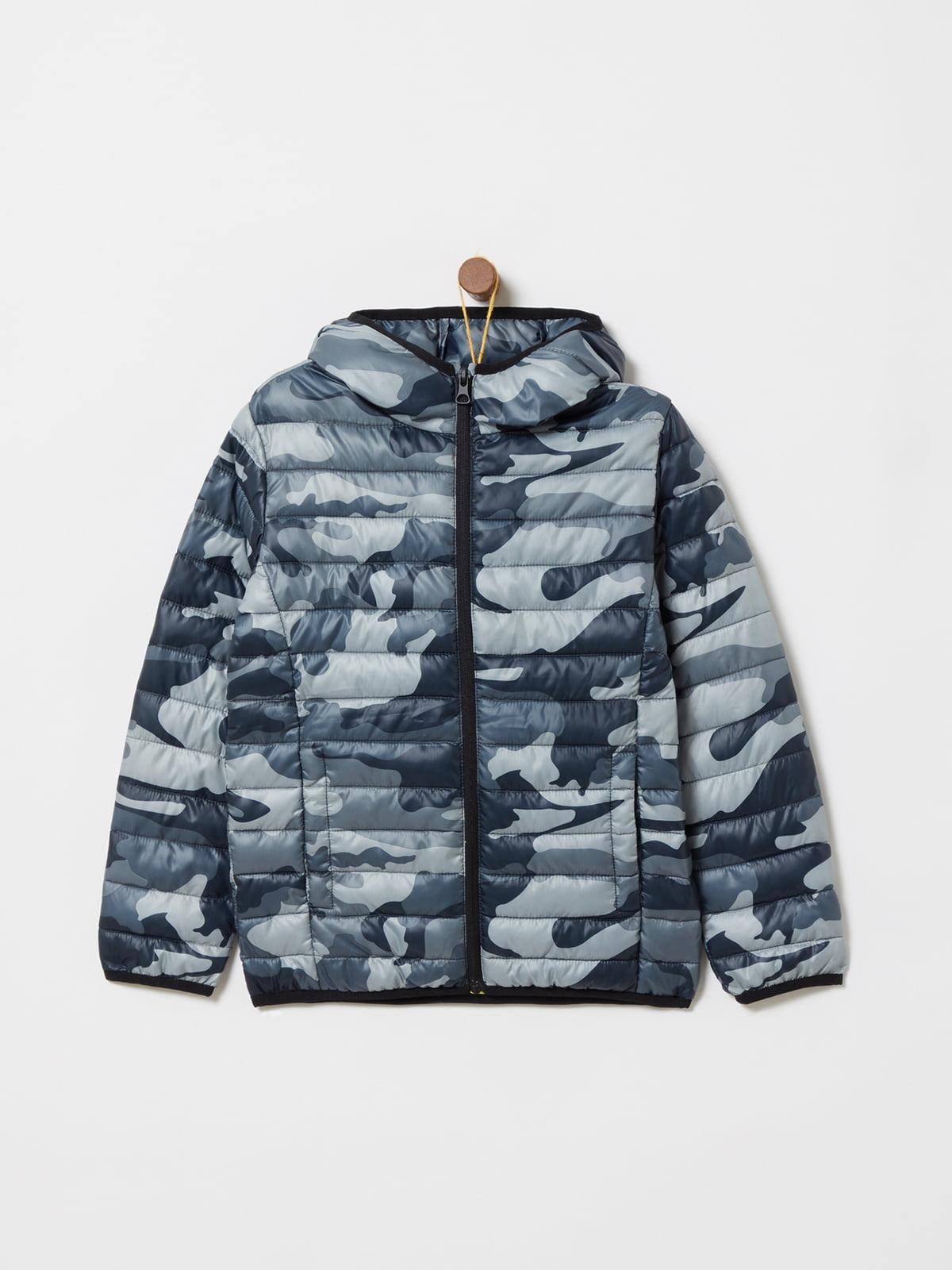 Куртка камуфляжной расцветки | 4902856