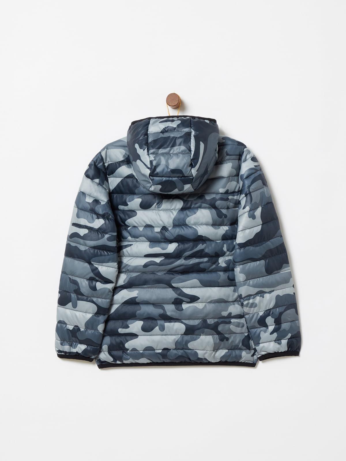 Куртка камуфляжной расцветки | 4902856 | фото 2
