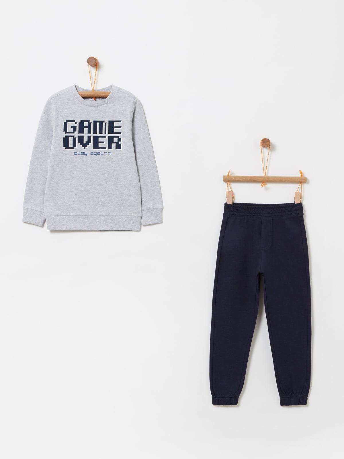 Комплект: світшот та штани | 4902904