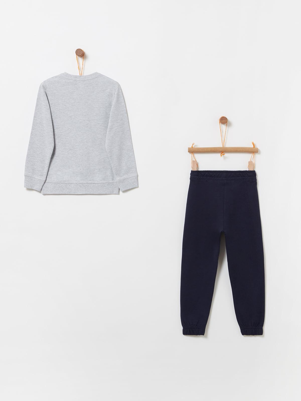 Комплект: світшот та штани | 4902904 | фото 2