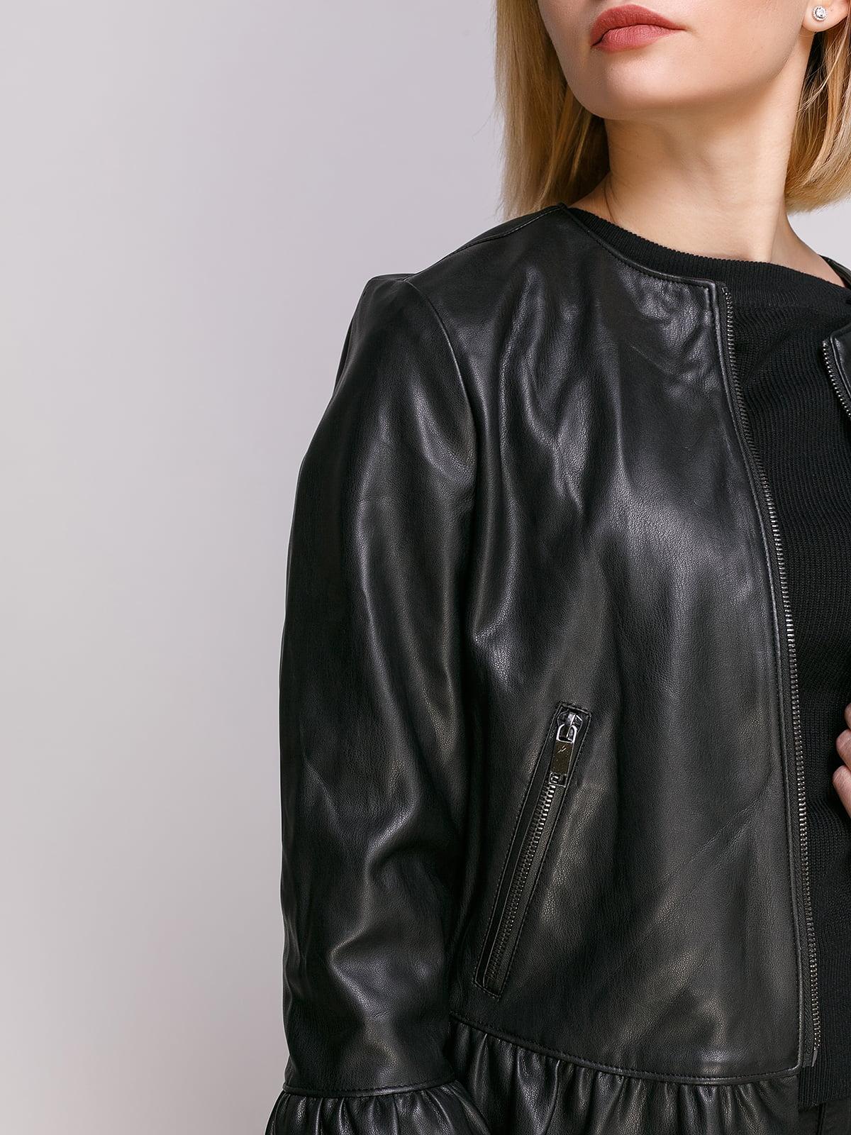 Куртка черная   4876006   фото 4
