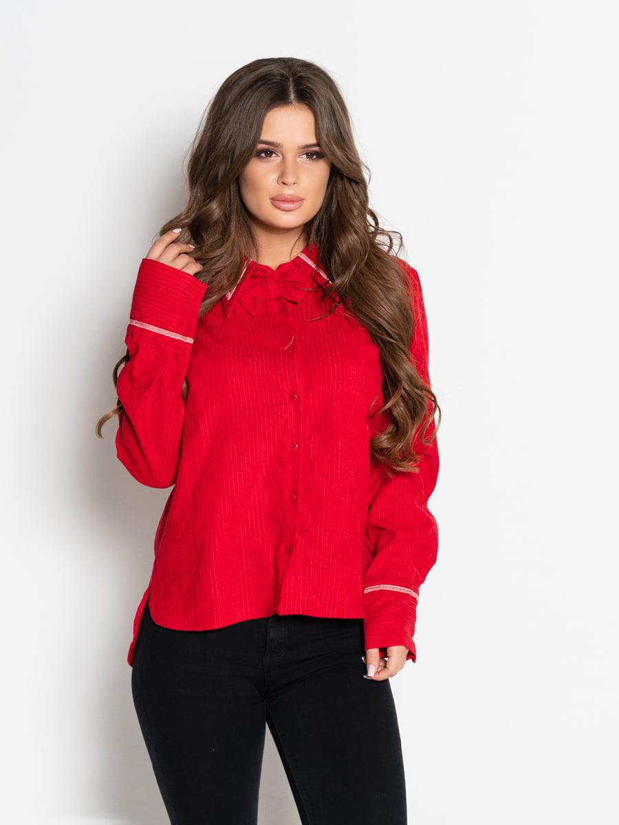 Рубашка красная | 4903826