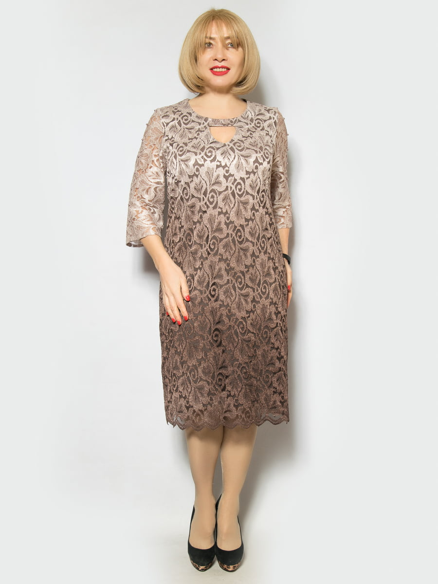 Сукня кавового кольору   4855949
