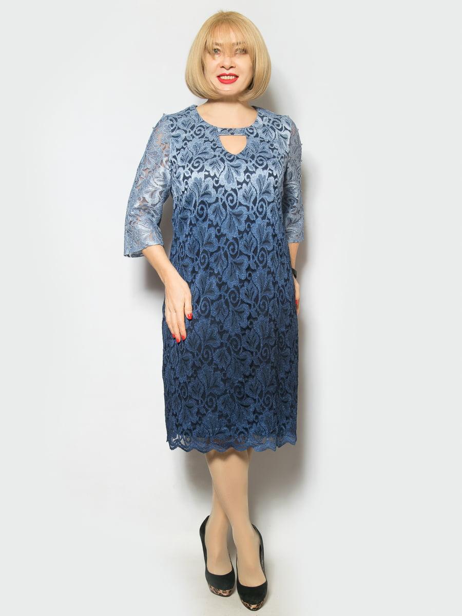 Платье голубое | 4855950