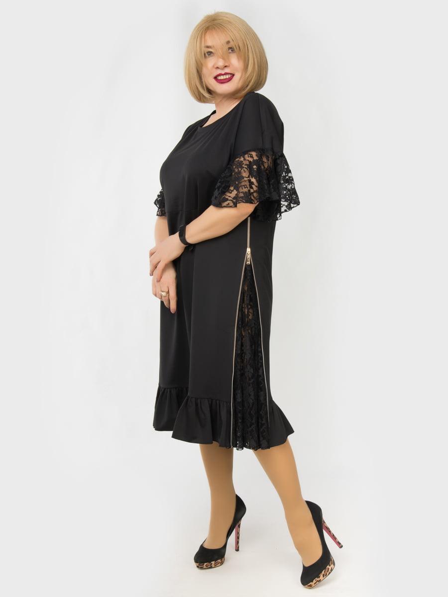 Платье черное | 4888883 | фото 2