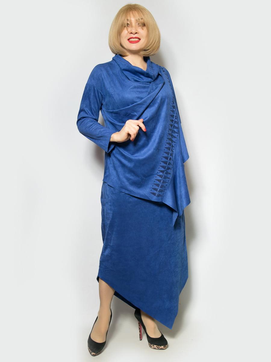 Платье цвета электрик | 4839503