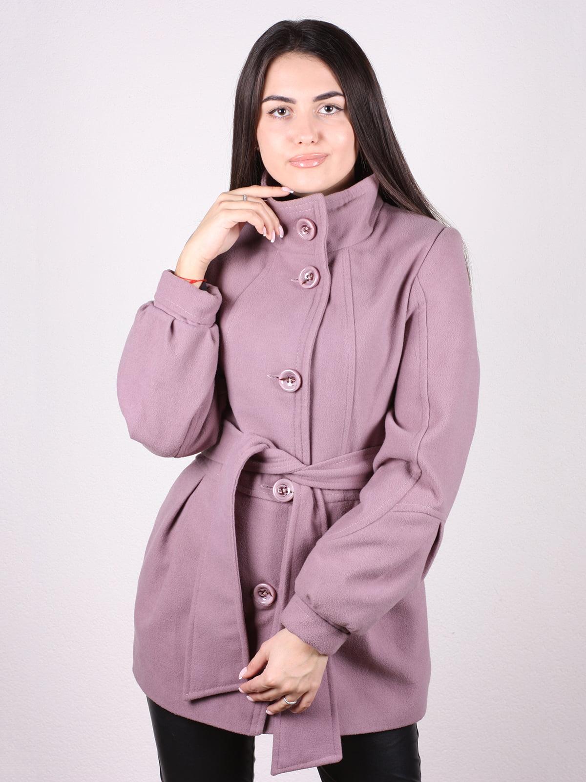 Пальто цвета пудры | 4903724