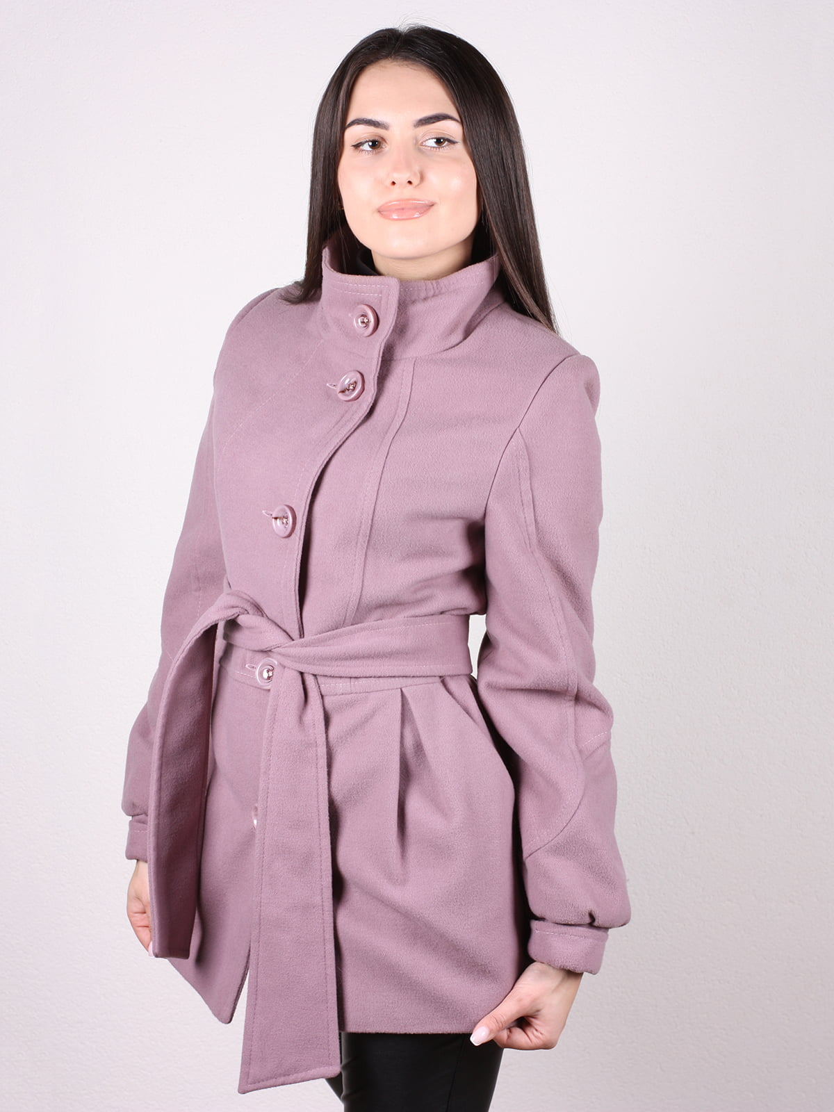 Пальто цвета пудры | 4903724 | фото 2