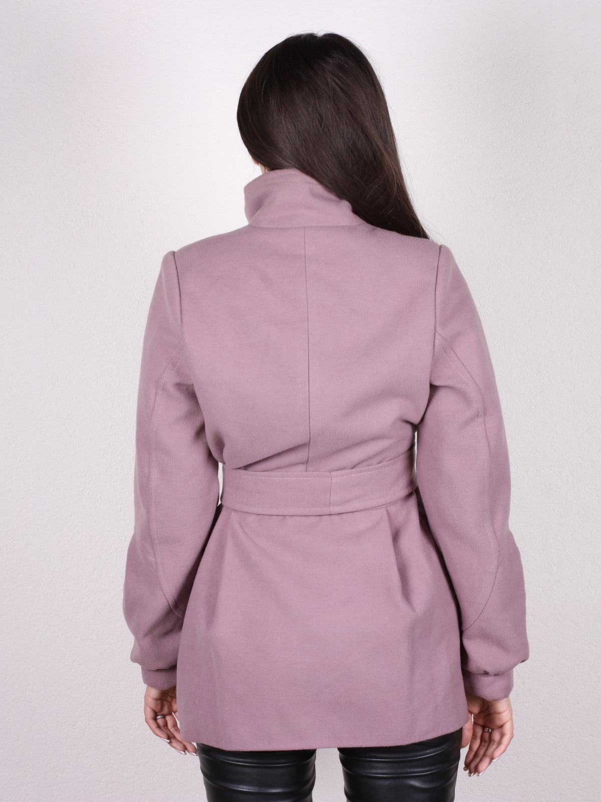 Пальто цвета пудры | 4903724 | фото 3
