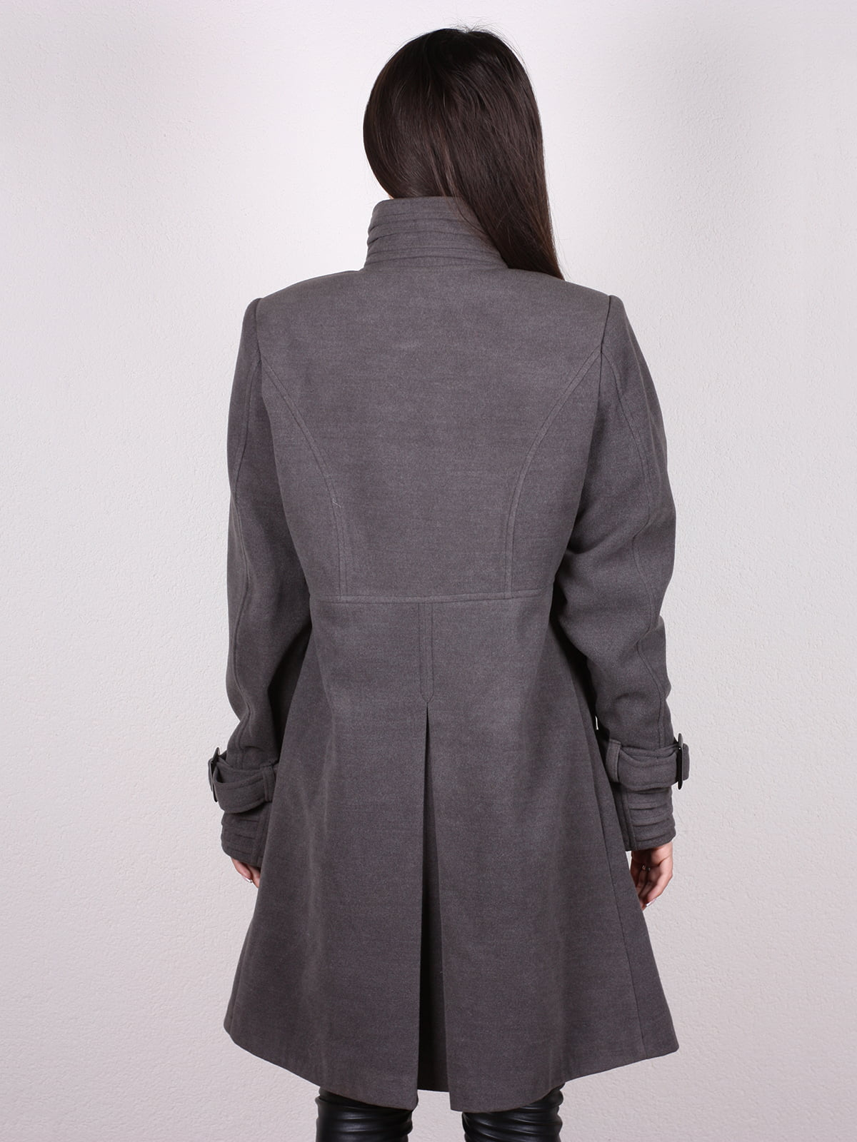 Пальто серое | 4903728 | фото 3