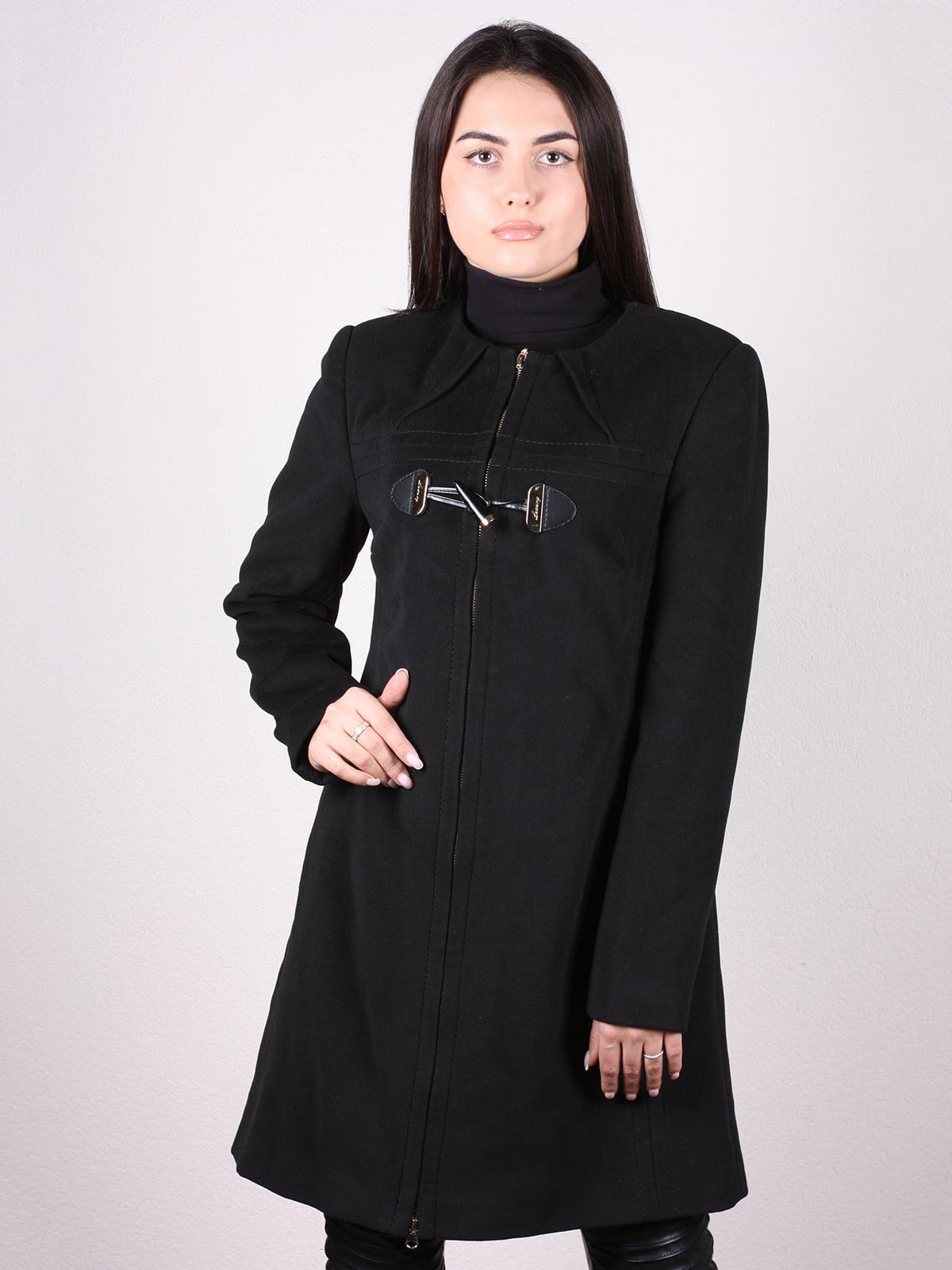 Пальто черное   4903734
