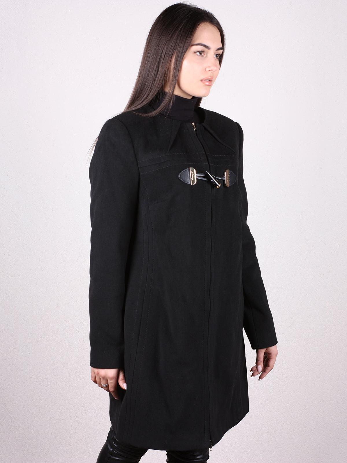 Пальто черное   4903734   фото 2