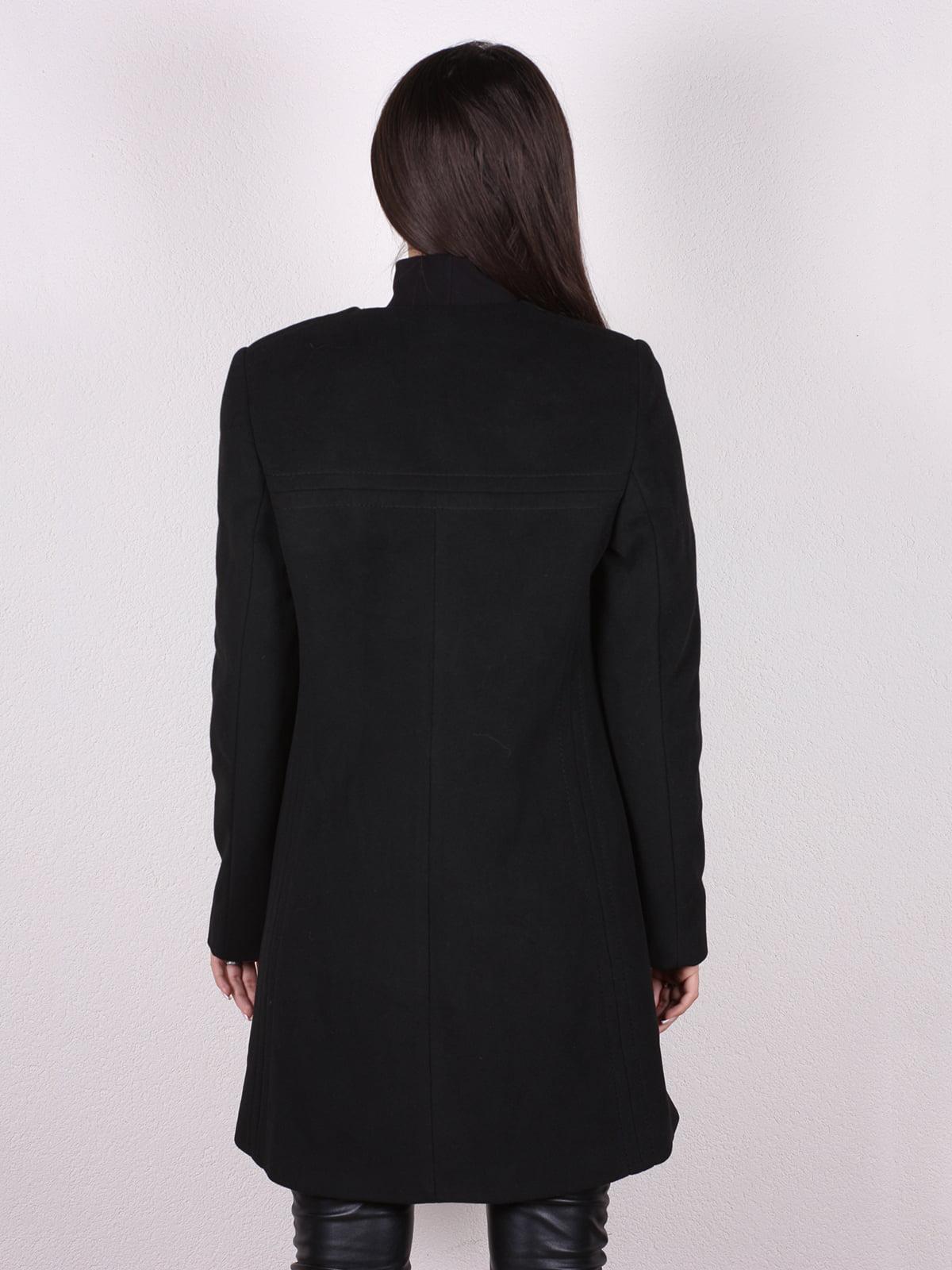 Пальто черное   4903734   фото 3