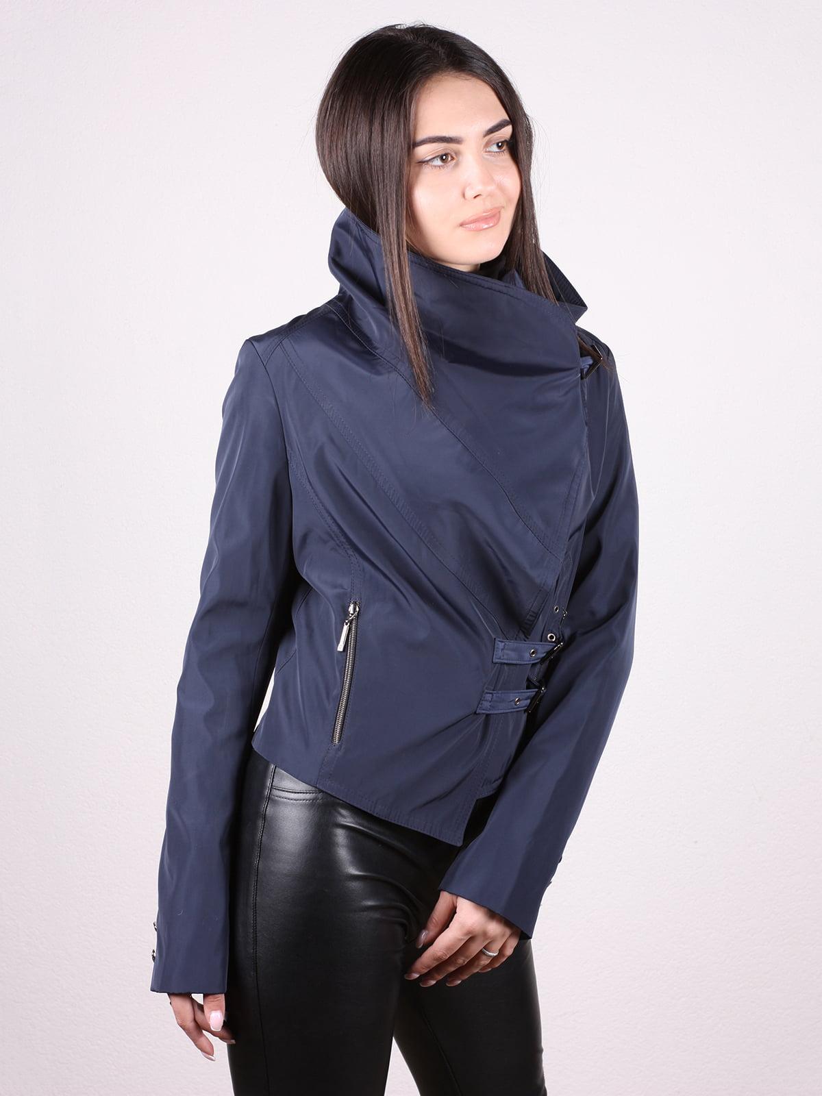 Куртка темно-синяя   4903748   фото 2