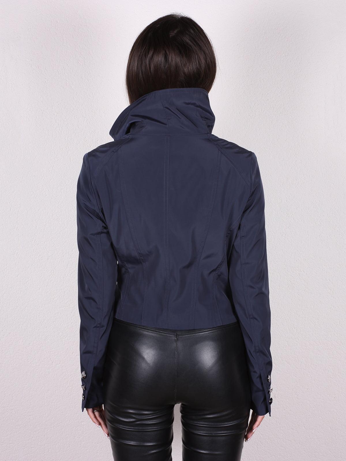 Куртка темно-синяя   4903748   фото 3