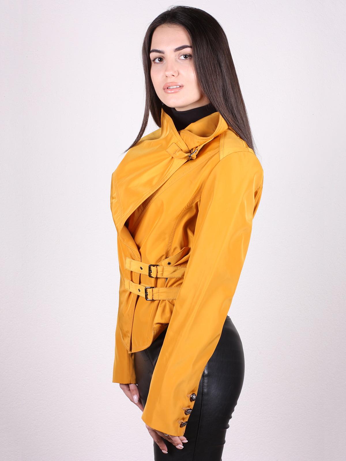Куртка желтая | 4903750 | фото 2