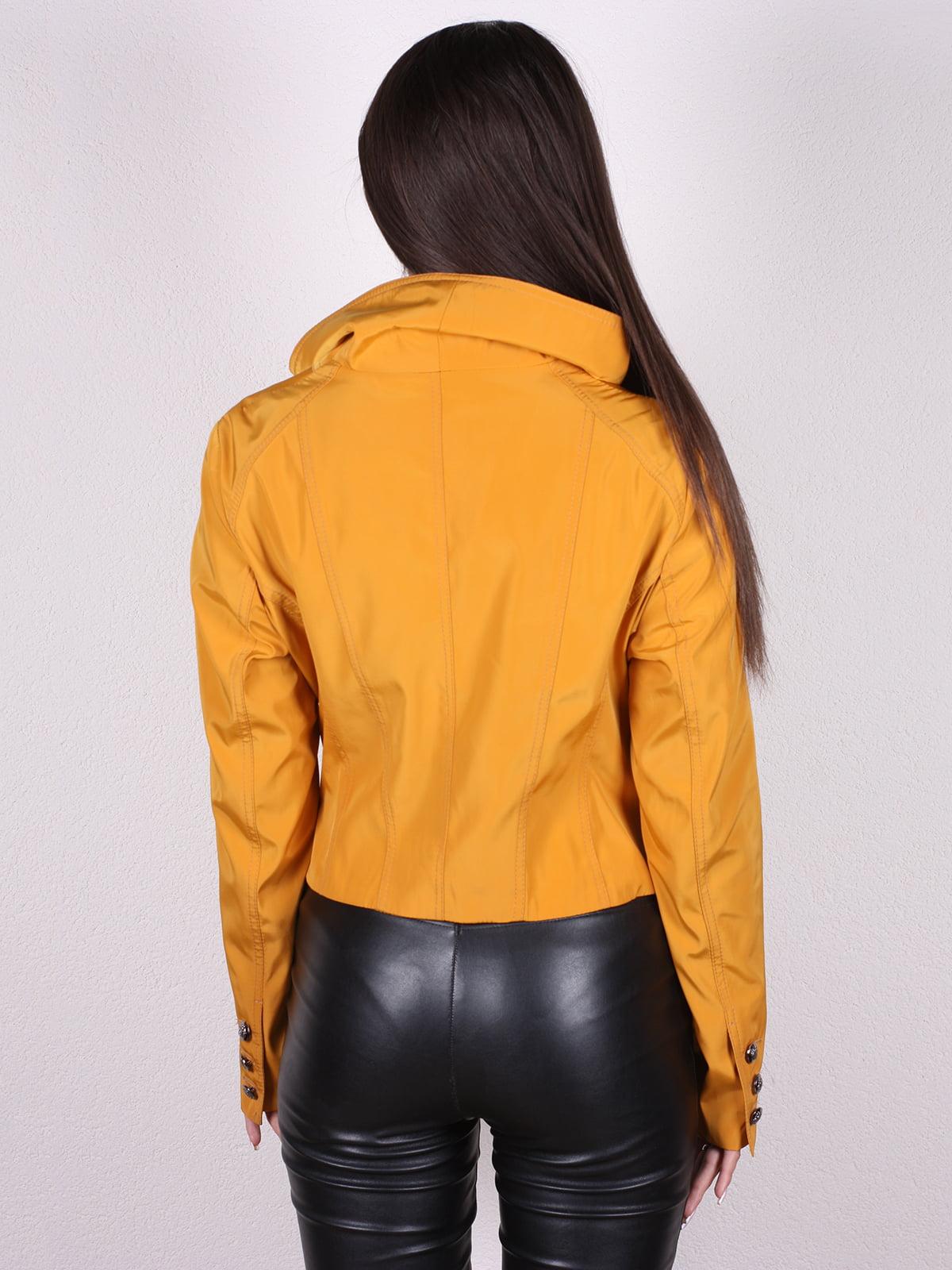 Куртка желтая | 4903750 | фото 3