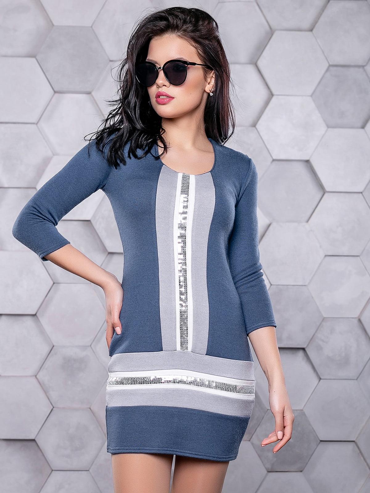 Сукня синя | 4904638 | фото 4