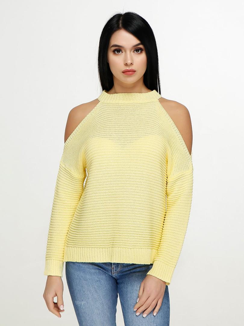 Джемпер жовтий | 4904593