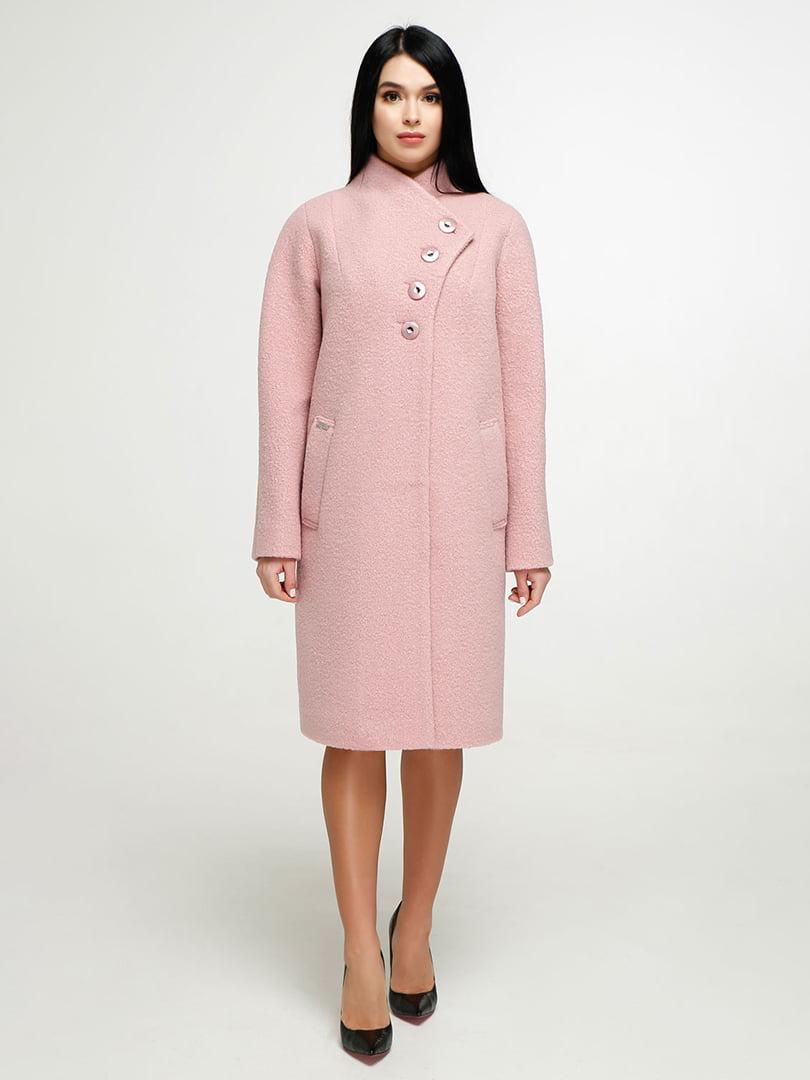 Пальто розовое   4904607