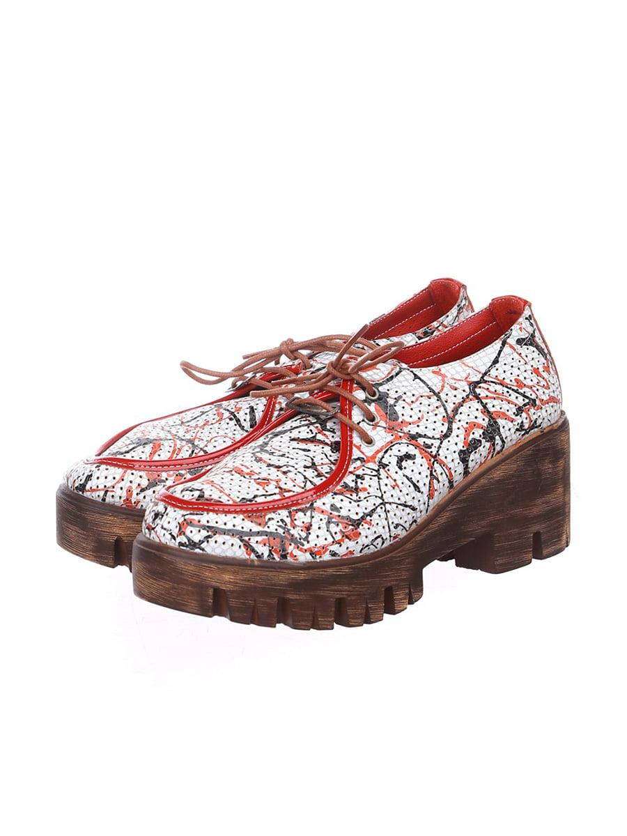 Туфли в принт | 4904805