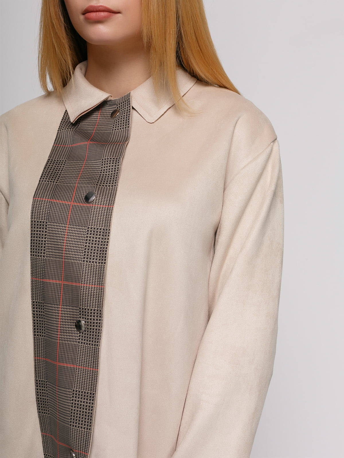 Пальто цвета пудры | 4876844 | фото 4